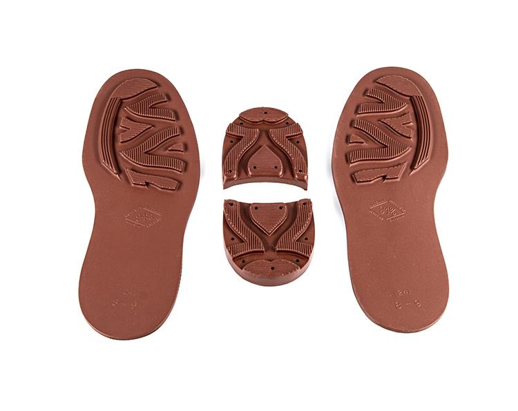 Chestnut Brown Ridgeway Sole & Heel